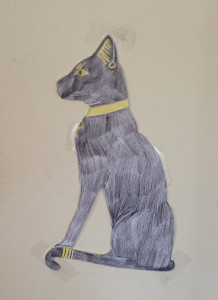 Bastet, Egyptian cat goddess
