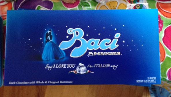 Baci, Italian chocolate