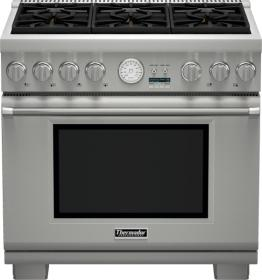 Thermador gas range