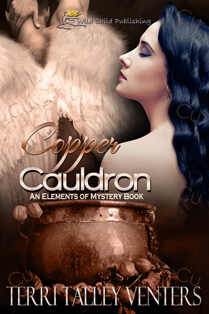 Copper Cauldron by Terri Talley Venters, paranormal erotic romance